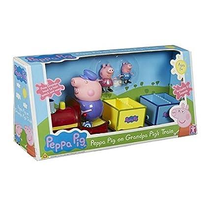 Peppa Pig Juguete Tren Abuelo Amazon Com Mx Juegos Y Juguetes