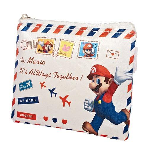 [Super Mario Bros Mario Envelope Wallet] (Domo Kun Handbag)