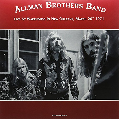 Price comparison product image Allman Brothers Band: Warehouse in New Orleans March 20th 1971 [2xWinyl]