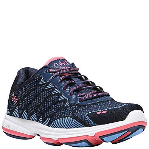 Ryka Women's Dominion Walking Shoe, Navy/Blue, 7 M US