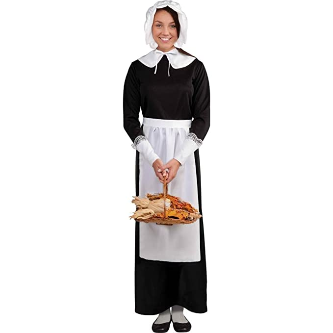 sc 1 st  Amazon.com & Amazon.com: Pilgrim Woman Costume Kit: Toys u0026 Games