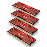 Patriot Memory PV316G160C9QKRD Viper 3 Series DDR3 16GB 1600MHz, PC3 12800 Memory Kit (Venom Red)