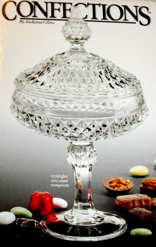 Confections Crystal Glass Diamond Point Candy Dish Diamond Point Candy Dish