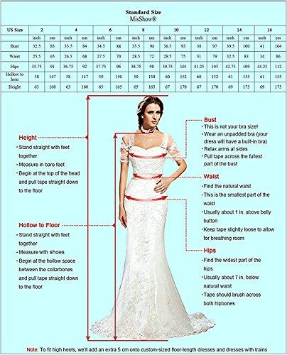 lang MisShow Ballkleid Chiffon Ärmellos elegant Hochzeit für Lang Brautjungfernkleid Abendkleider Damen Abendkleider Royalblau xrwqrZ