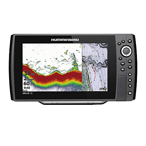 Helix 10 Chirp GPS G3N Fishfinder with Bluetooth & Ethernet (Humminbird Helix 10 Mega Si G2n Gps)