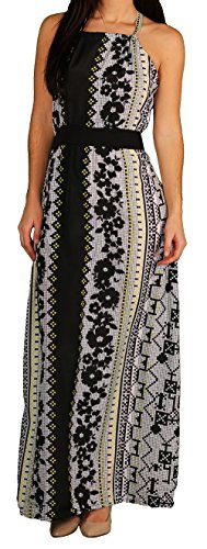 Apple Bottoms Junior Aztek Print Halter Dress, Aztek, Size (Apple Bottoms Womens Clothing)