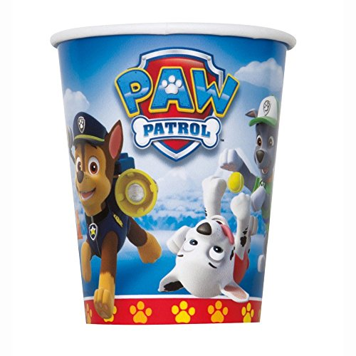 Paw patrol party for 8 plates cups napkins birthday for Paw patrol tattoos