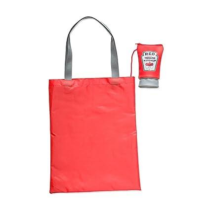 Balvi - Ketchup Bolsa Plegable. Bolsa para Compras. Evita ...
