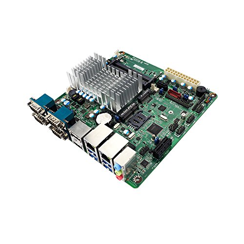 Jetway JNF694-3350 Motherboard w/Intel Apollo Lake Celeron N3350 Dual Core Processor, 4x Serial Ports, Dual GbE LAN ()