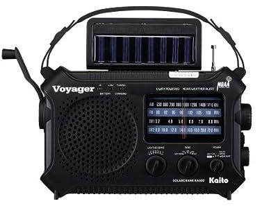 Kaito KA500 5-way Powered Emergency AM/FM/SW Weather Alert Radio from Kaito