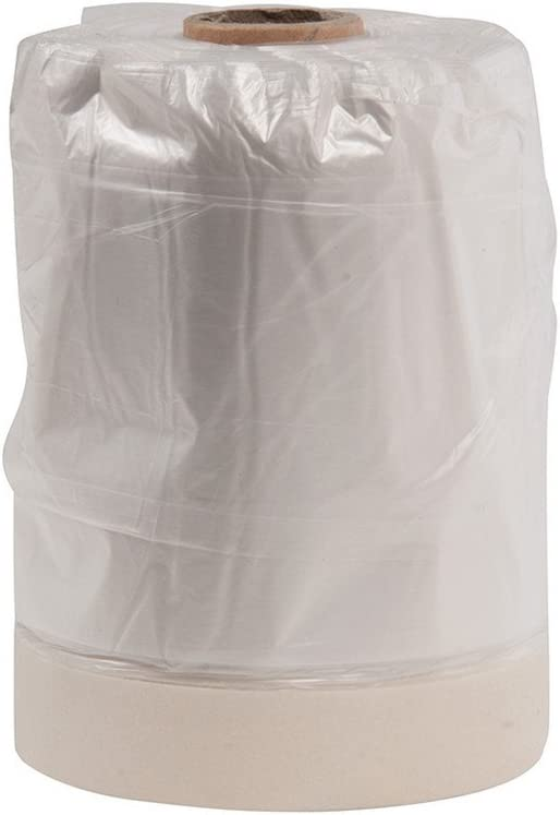 Silverline - Lámina cobertora de HDPE, con cinta de pintor, en rollo