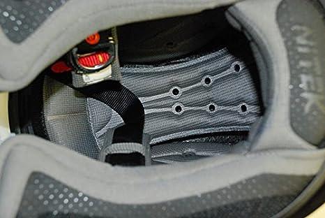 Stealth Graphic, Medium Nitek P1 Full-Faced Motorcycle Street Helmet Flat M P1 Stealth