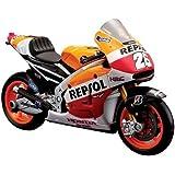 Maisto - 31587 - Moto Miniature - Honda 14 26 Daniel Pedrosa - Echelle 1/18 - Orange