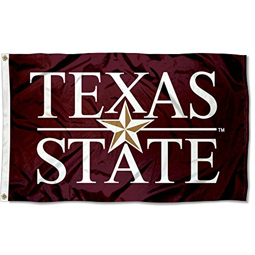 - Texas State Bobcats University Large College Flag