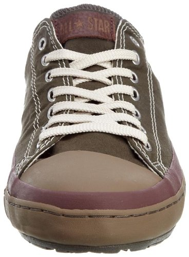 b7ca2c360b0e Converse Men s Chuck Taylor All Star Premiere Ox Grey Brown Green Trainer  1T650 9 UK  Amazon.co.uk  Shoes   Bags