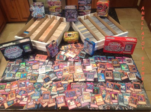 200-YuGiOh-Card-Lot-15-Rares-10-Holos-FREE-BONUS-YuGiOh-Collectors-Tin