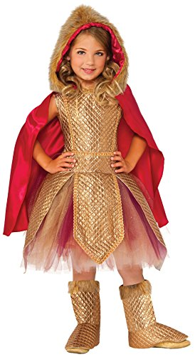 Rubie's Costume Kids Deluxe Warrior Princess Costume, Small -