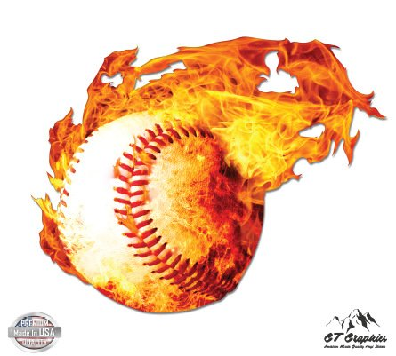 Baseball on Fire - 3