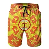 Oct USA Wrestling Logo Drawstring Mens Boardshorts Swim Trunks Tropical Soccer Board Shorts Swimming Watershort