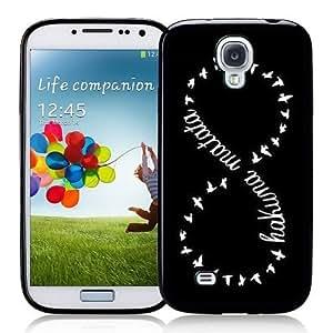 Galaxy S4 Case Tribal Black Samsung Galaxy i9500 Case Snap On Case