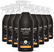 Method Daily Granite Cleaner Spray, Plant-Based Cleaning Agent Safe for Granite, Marble, and Other Sealed Ston