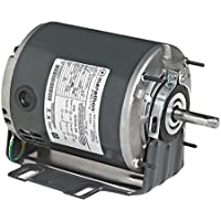 Marathon 4355 48 Frame Open Drip Proof 5KH39QN5525 Belt Drive Motor, 1/4 hp, 1725 rpm, 115 VAC, 1 Split Phase, 1 Speed, Sleeve Bearing, Resilient Ring Mount