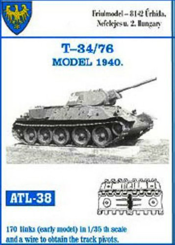Friulmodel ATL38 1/35 Metal Track for T-34 early Mod 40 ()