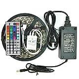 LED Strip Lights, eBoTrade RGB 5M/16.4 Ft Waterproof SMD 5050 300 LED Color ...