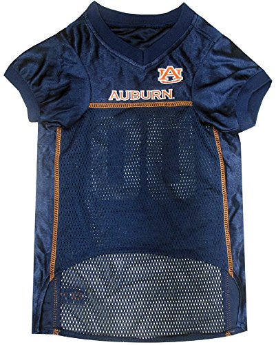 Pets First NCAA Dog Jersey, Small, Auburn University Tigers