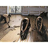 Posters: Gustave Caillebotte Poster Art Print - The Floor Scrapers, 1875 (32 x 24 inches)