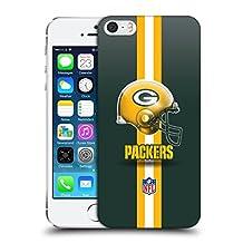 Official NFL Helmet Green Bay Packers Logo Hard Back Case for Apple iPhone 5 / 5s / SE