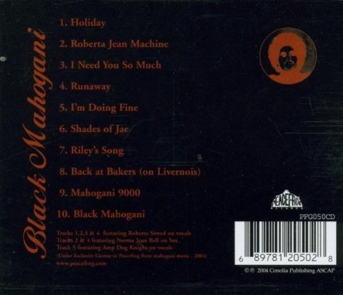 Black Mahogani by Peacefrog