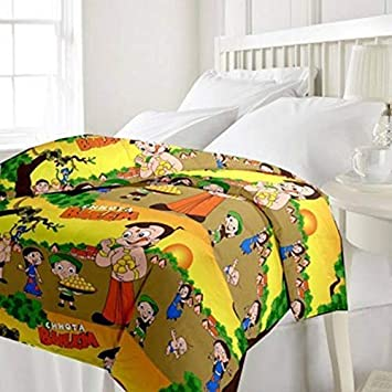 Buy Neat Stuff Products Super Soft Cartoon Kids Design Print Reversible Single Bed Dohar Blanket Ac Dohar Gift For Boy Or Girl Online At Low Prices In India Amazon In
