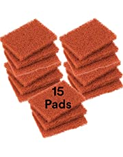 """Scotch-Brite 746 Quick Clean Heavy Duty Griddle Pad, 5-1/4"""" Length x 4"""" Width x 0.8"""" Thick"""