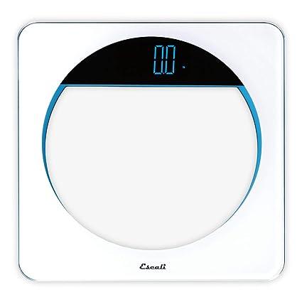 31fc11e59a8b Amazon.com: Escali Bath LB180 Lunar Blue Body Scale: Home & Kitchen