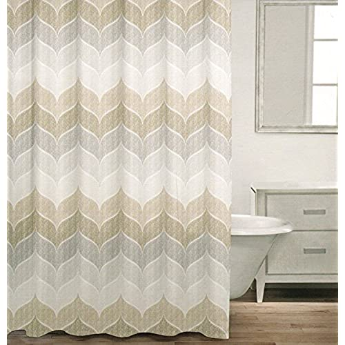 Beige Grey Curtains Amazon Com