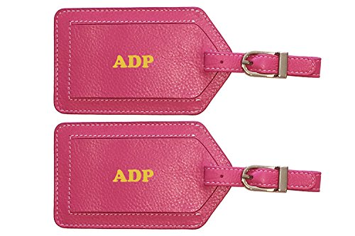 b4c3c7efe6c4 We Analyzed 1,337 Reviews To Find THE BEST Leather Luggage Tag Pink