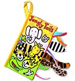 Jellycat Soft Books, Jungly Tails - 8 inches