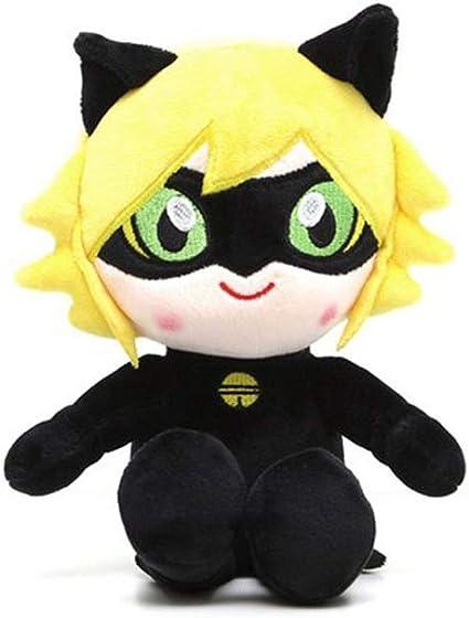 Cat Noir and Ladybug plush set