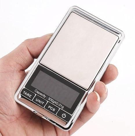 Peso Digital de precision 0,01 gramo hasta 300 gramos , peso para joyería o cocina de OPEN BUY: Amazon.es: Bricolaje y herramientas