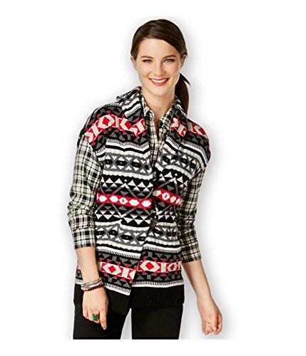 適度なが欲しいブラジャーAmerican Living Womens fair-isle-printセーターベスト