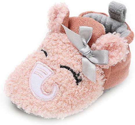 SOFMUO Baby Girls Fleece Booties product image