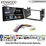 Volunteer Audio Kenwood DMX7705S Double Din Radio Install Kit with Apple CarPlay Android Auto Bluetooth Fits 2001-2003 Acura CL and 1999-2003 Acura TL