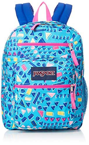 Jansport Unisex Big Student Backpacks, Tumbled Treasures, One Size ()