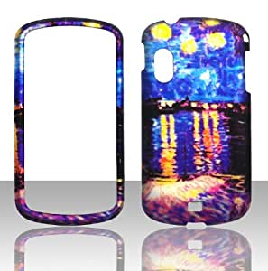 Eric-Diy Samsung 2D Pretty Night case cover Hard cell phone case cover Snap-on Cover Rubberized Touch Faceplates for Samsung Stratosphere fKxOsbdOoFQ i405 Verizon