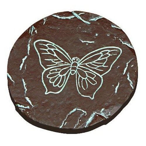 ALPINE CORPORATION WAC738 Decorative Butterfly Step Stone 8Inch