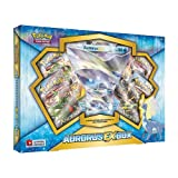 Pokemon TCG: Aurorus EX Pokemon Box - Contains 4 Booster Packs and Aurorus EX Rare Pokemon Card