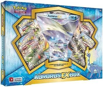 Pokemon aAurorus EX colección de Juegos baraja de de la Tarjeta Cartas, Caja (Multicolor) (podría no Estar en español): Amazon.es: Juguetes y juegos