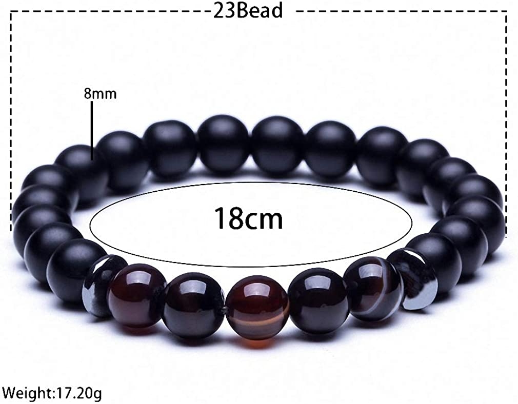 Giwotu Womens Lava Stone Natural Stone Beads Strand Bracelet for Men Crown Skull Pendant Charms Bracelet Male Jewelry Accessories