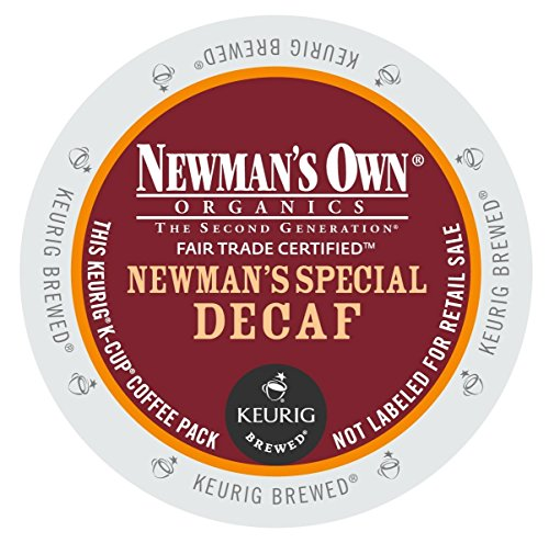 Green Mountain Coffee Newman's Special Decaf,  K-Cup Portion Pack for Keurig K-Cup Brewers, Certified Organic, 24-Count (Keurig Organic Coffee K Cups compare prices)